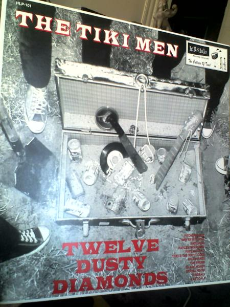 tiki men twelve dusty diamonds lp