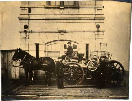 Old Engine #7 Firehouse, 1885 (Now 16th @ Albion)