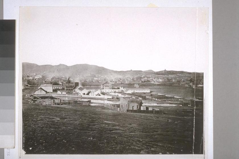 Mission Woolen Mill, 1862