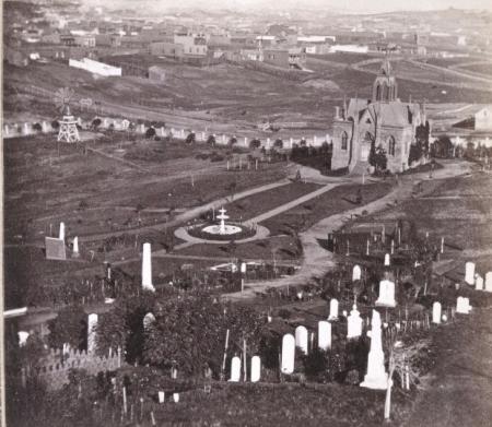 Jewish Cemetery, c. 1860 (Now Dolores Park)