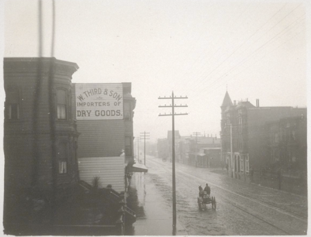 Valencia St. Between 21st and 22nd, 1898