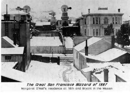 The Great San Francisco Blizzard of 1887, 16th and Bryant