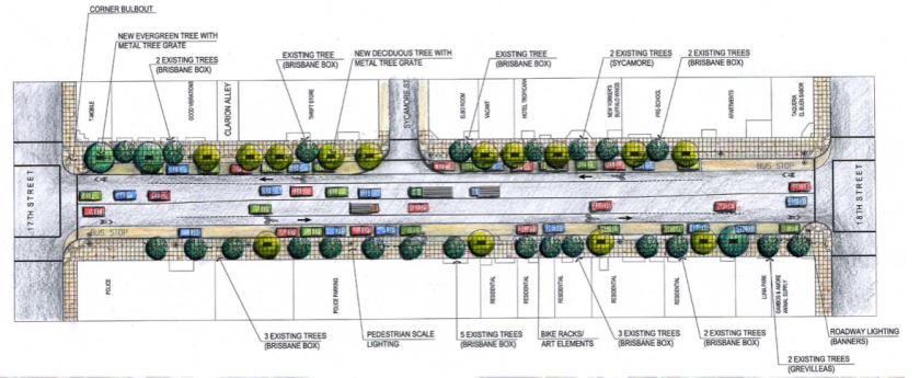 The plan for Valencia between 17th and 18th (click to enlarge)