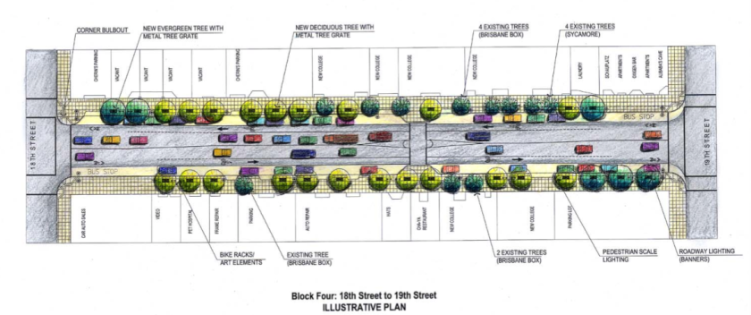 The plan for Valencia between 18th and 19th (click to enlarge)