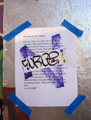 graffiti tagging letters taggers