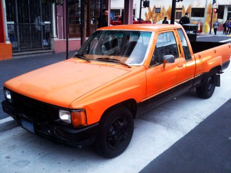 giantsmobile, giants car, san francisco, mission district, san francisco giants, orange and black